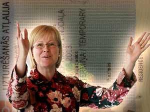 Покупка дома у Жанеты Яунземе-Гренде, помогла получить внж в Латвии.